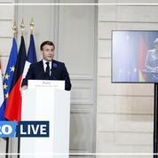Islamisme : Macron appelle à «regarder lucidement les liens qui existent» entre immigration et terrorisme