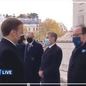 Hollande à Macron : «Ça va ? C'est pas trop dur en ce moment ?»