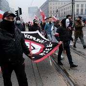 Pologne : des milliers de manifestants d'extrême droite à Varsovie malgré le Covid-19