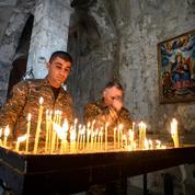 Au Karabakh, les adieux des Arméniens au monastère orthodoxe de Dadivank