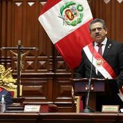 Pérou: le président par intérim Manuel Merino annonce sa démission