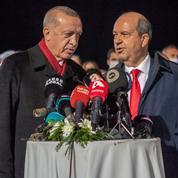 À Chypre, le président turc Erdogan préconise une solution à «deux Etats»