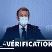«9000 patients en réanimation» mi-novembre: Emmanuel Macron a-t-il exagéré le risque épidémique?