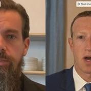 Face aux sénateurs américains, Facebook et Twitter défendent leur gestion de l'élection