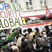 Des centaines de personnes rassemblées contre le texte «sécurité globale»