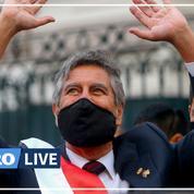 Pérou: le nouveau président par intérim Francisco Sagasti a prêté serment