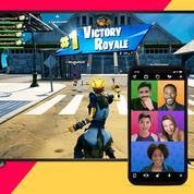 Les appels vidéo arrivent sur le jeu Fortnite