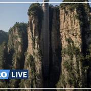 Vue sur «Avatar» : en Chine, dans le plus haut ascenseur extérieur du monde