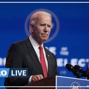 Joe Biden dénonce l'«incroyable irresponsabilité» de Donald Trump