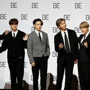 Démarrage en trombe pour le nouvel album de BTS, les rois de la K-pop