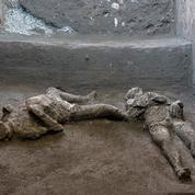 À Pompéi, découverte stupéfiante de deux victimes qui tentaient de fuir l'éruption du Vésuve