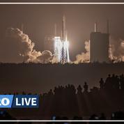 La Chine a lancé une sonde pour ramener des échantillons de la Lune