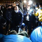 Évacuation musclée d'un camp de migrants à Paris : deux enquêtes ouvertes pour «violences»