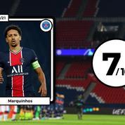 Les notes du PSG face à Leipzig: Marquinhos au niveau, pas les stars de l'attaque