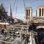 Notre-Dame de Paris : le démontage de l'ancien échafaudage est achevé