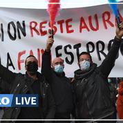 Les restaurateurs du sud de la France ont manifesté ce jeudi à Marseille