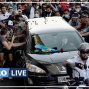 Diego Maradona enterré à Buenos Aires