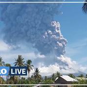 Des milliers d'Indonésiens évacués après l'éruption d'un volcan