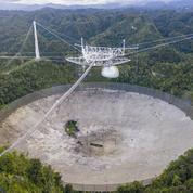 Le télescope géant d'Arecibo s'est effondré