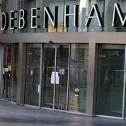Au Royaume-Uni, les grands magasins Debenhams au bord de la liquidation