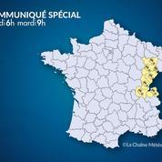 Météo : du verglas et de la neige dans l'est de la France