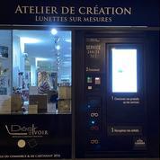 Acheter ses lunettes dans un distributeur automatique, c'est possible à Bordeaux