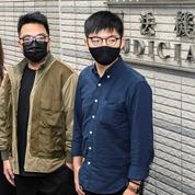 Hongkong : Joshua Wong et deux célèbres militants pro-démocratie condamnés à de la prison