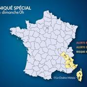 Météo : les Alpes et la Corse frappés par de fortes pluies et de la neige