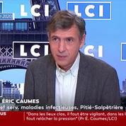 Covid-19 : le Pr. Eric Caumes craint une possible «troisième vague» après les fêtes de fin d'année