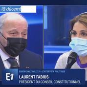 Pour Laurent Fabius, la «mutation climatique» est «beaucoup plus grave» que le Covid-19