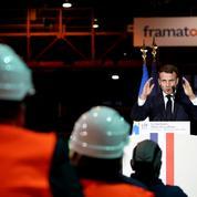 Entre nucléaire et énergies renouvelables, Macron fait du «en même temps»
