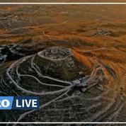 Les nouveaux trésors du palais du roi Hérode dévoilés en Cisjordanie