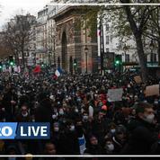 Loi «sécurité globale» : des manifestations à travers le pays, une centaine d'arrestations à Paris