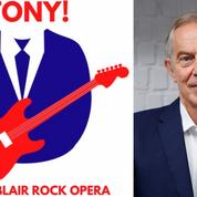 Un opéra rock féroce raconte comment Tony Blair est passé de hippie à premier ministre