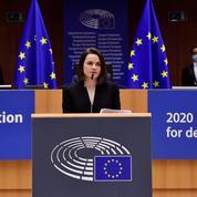 Biélorussie : «nous allons gagner», assure l'opposante Svetlana Tikhanovskaïa en recevant le prix Sakharov