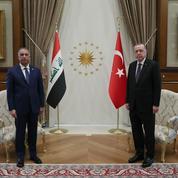 Erdogan exhorte Bagdad à agir contre le PKK, un «ennemi commun»