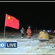 La Chine a rapporté des morceaux de Lune sur Terre