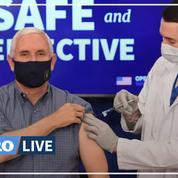 Covid-19 : le vice-président américain Mike Pence vacciné