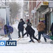 Avant les fêtes de Noël, New York se pare d'un manteau neigeux
