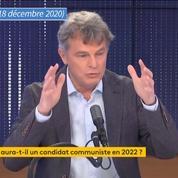 Présidentielle 2022 : Roussel plaide pour «une candidature communiste» plutôt qu'une alliance avec Mélenchon