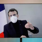 La popularité d'Emmanuel Macron et de Jean Castex en baisse