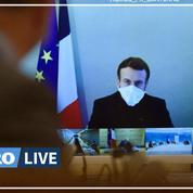 Covid-19 : Emmanuel Macron invite à «redoubler de vigilance»