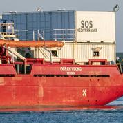Fin du blocage en Italie de l'Ocean Viking, navire humanitaire de SOS Méditerranée