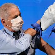 Covid-19 : l'immunologue Anthony Fauci, conseiller de Trump et Biden, vacciné