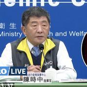 Taïwan : premier cas de transmission locale du coronavirus depuis avril