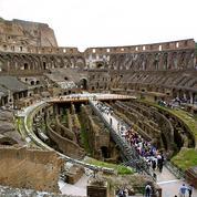 Rome ordonne les grands travaux pour donner au Colisée un sol mécanique rétractable