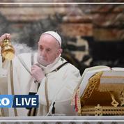 Coronavirus : dans son message de Noël, le pape François demande l'accès au vaccin pour tous