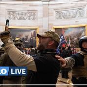 États-Unis: des partisans de Trump pénètrent dans le Capitole, la certification de Biden interrompue