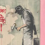 Deux œuvres de Banksy vandalisées à la Nouvelle-Orléans