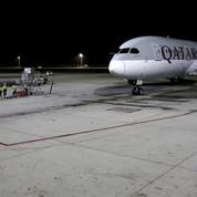 Premier survol par Qatar Airways de l'Arabie saoudite depuis la crise
